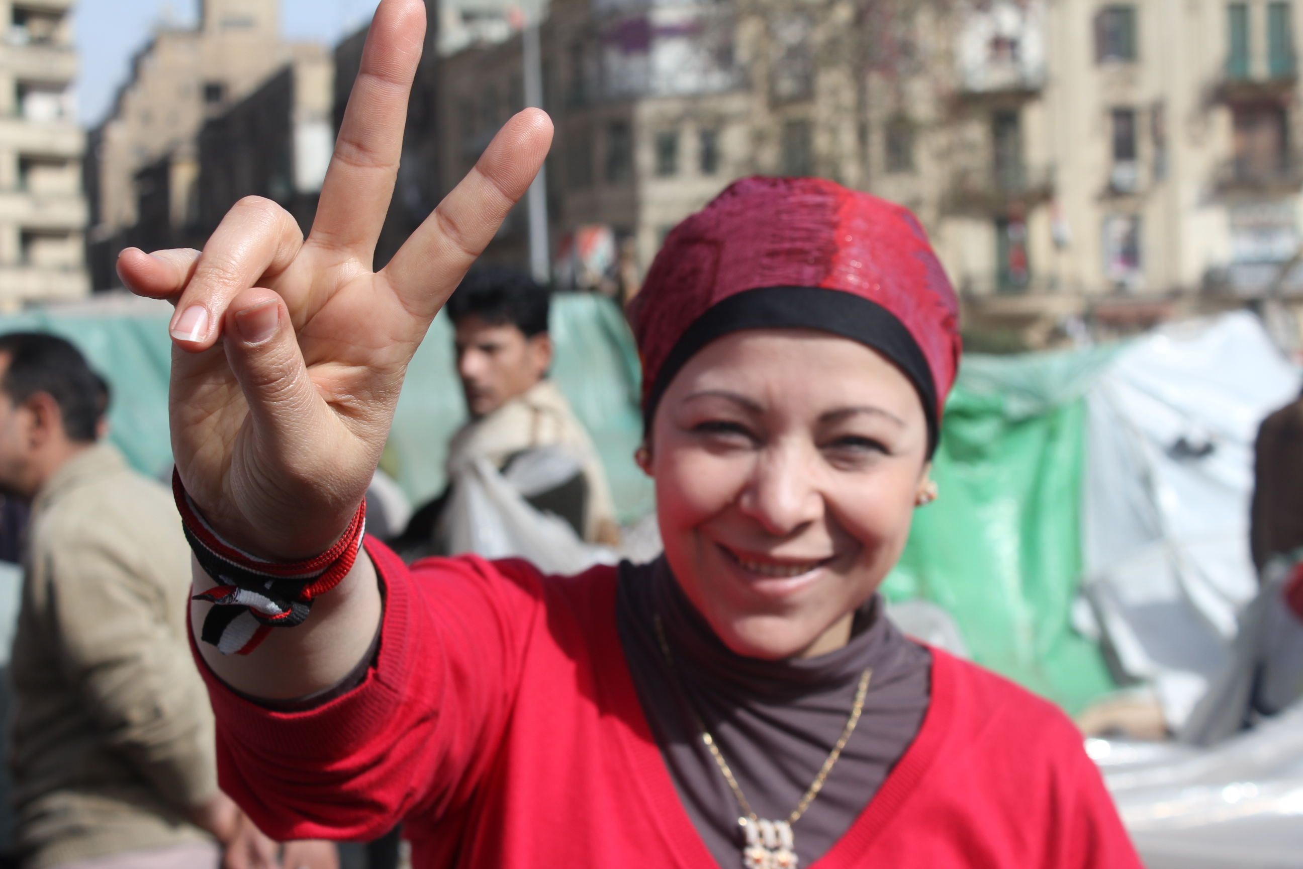 Woman from egypt on International Women's Day